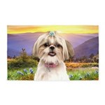 Shih Tzu Meadow 3'x5' Area Rug