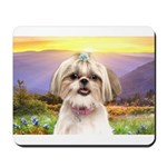 Shih Tzu Meadow Mousepad