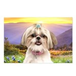 Shih Tzu Meadow Postcards (Package of 8)