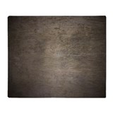 Dark Cement Slab Wall Throw Blanket
