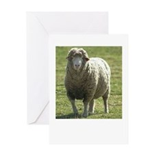 Miss Ewe Greeting Card