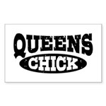 Queens Chick Sticker (Rectangle)