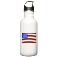 Stars and Stripes Sports Water Bottle