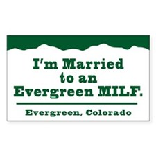 Cute Evergreen colorado Decal