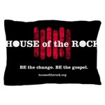 """House of the Rock"" Logo Pillow Case"