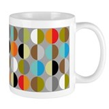 Small Mug with Split Circles