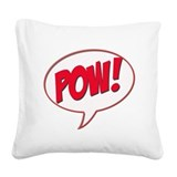 Unique Pow's Square Canvas Pillow
