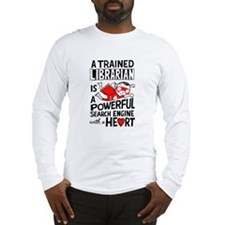 Super Librarian Long Sleeve T-Shirt