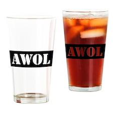 AWOL Drinking Glass