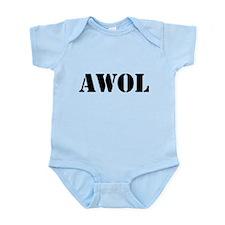 AWOL Infant Bodysuit