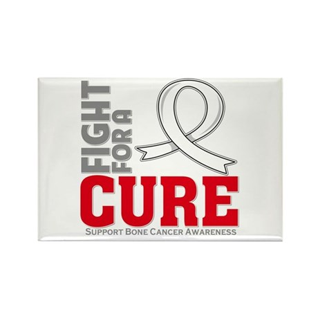 Bone Cancer Fight For A Cure Rectangle Magnet