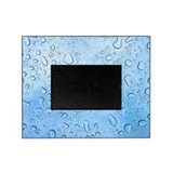 Blue Raindrops Picture Frame