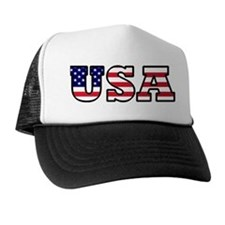 Cute Stars and stripes Trucker Hat