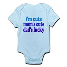I'm Cute, Dad's Lucky! Onesie