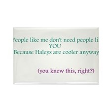 Funny Haley Rectangle Magnet