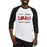Personalized Love Baseball Jersey