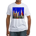 Philadelphia Starry Night Fitted T-Shirt