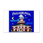 Philadelphia Starry Night 20x12 Wall Decal