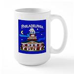 Philadelphia Starry Night Large Mug