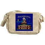 Philadelphia Starry Night Messenger Bag