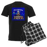Philadelphia Starry Night Men's Dark Pajamas