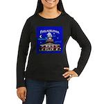 Philadelphia Starry Night Women's Long Sleeve Dark