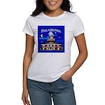 Philadelphia Starry Night Women's T-Shirt