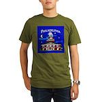Philadelphia Starry Night Organic Men's T-Shirt (d