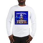 Philadelphia Starry Night Long Sleeve T-Shirt