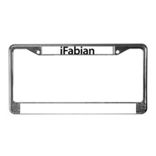iFabian License Plate Frame