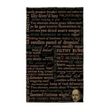Shakespeare Insults 3'x5' Area Rug