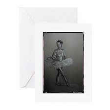 Ballerina! Ballet, dance art! Greeting Cards (Pk o
