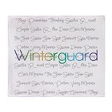Winterguard Throw Blanket