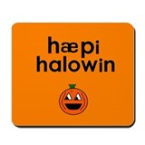Happy Halloween Mousepad