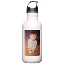 Cant I Please Paint? Sports Water Bottle