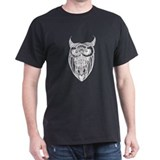 Horned Owl in whote T-Shirt