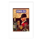Pernod Fils Absinthe Postcards (Package of 8)
