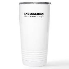 Cute Engineer Stainless Steel Travel Mug