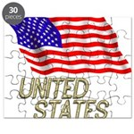 Flag of US e3 Puzzle