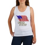 Flag of US e3 Women's Tank Top