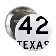 "Texas 42 2.25"" Button"