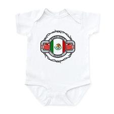 Mexico Boxing Onesie