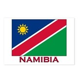 Namibia Flag Stuff Postcards (Package of 8)