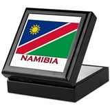 Namibia Flag Stuff Keepsake Box