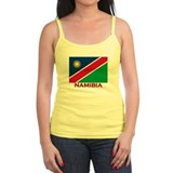 Namibia Flag Stuff Ladies Top
