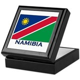 Namibia Flag Merchandise Keepsake Box