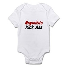 Organists Kick Ass Infant Bodysuit