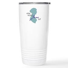 Funny Jane austen Thermos Mug