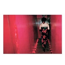 Red Hallway Postcards (Package of 8)