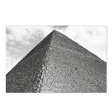 B&W Pyramid Postcards (Package of 8)